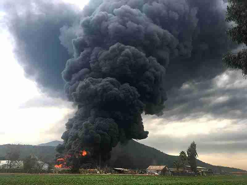 Incendio en Rinconada: Lo que el viento no se lleva