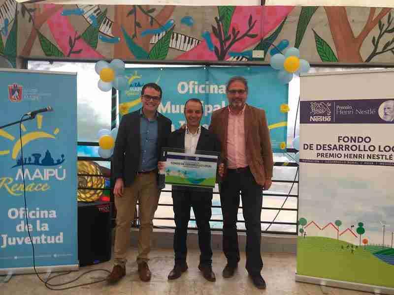 Proyecto Domo Sustentable ganó Fondo de Desarrollo Local Premio Henri Nestlé en Maipú